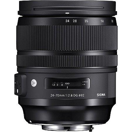 Lente Sigma 24-70mm f/2.8 DG OS HSM | Art (para Canon)
