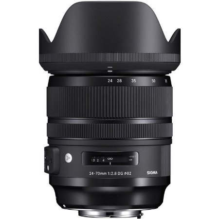 Lente Sigma 24-70mm f/2.8 DG OS HSM | Art (para Nikon)