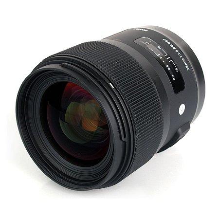 Lente Sigma 35mm f/1.4 DG HSM | Art (Para Nikon)