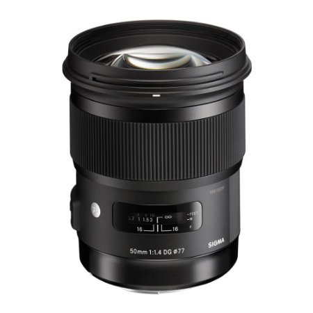 Lente Sigma 50mm f/1.4 DG HSM F   Art (Para Nikon)