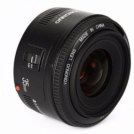Lente Yongnuo EF 35mm f/2 (para Canon)