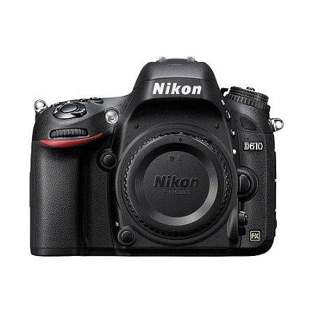 Nikon D610 (somente corpo)