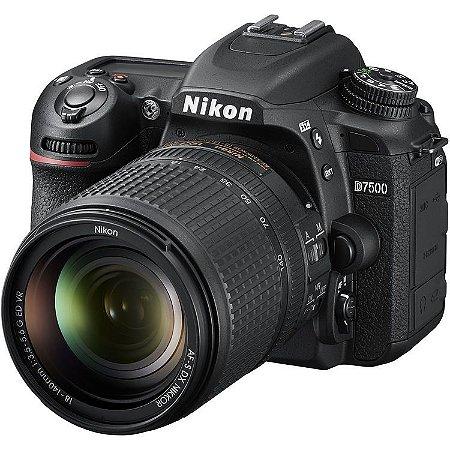 Nikon D7500 + Lente AF-S DX 18-140mm f/3.5-5.6G ED VR