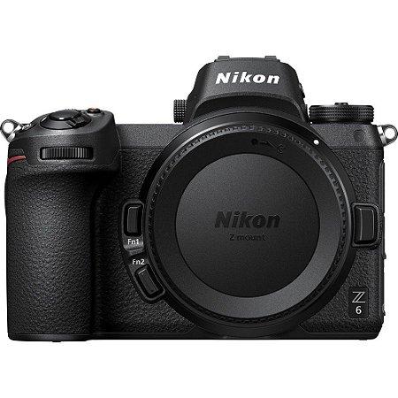 Nikon Z6 Mirrorless (somente corpo)