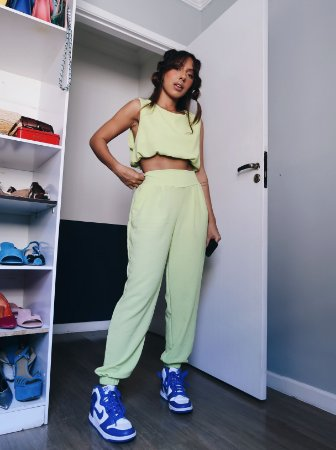 Conjunto Jasmine verde