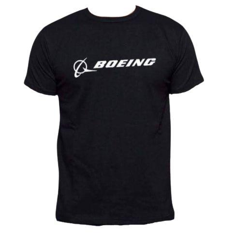 Camisa Boeing Preta