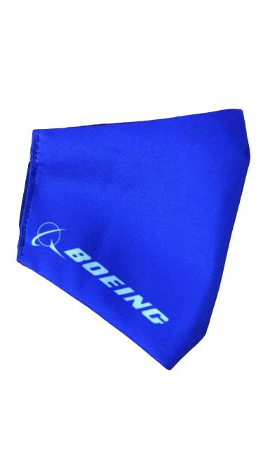 Mascara Boeing Azul