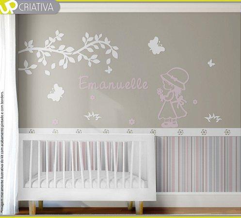 Painel decorativo para quarto de bebê - Tema Camponesa MDF