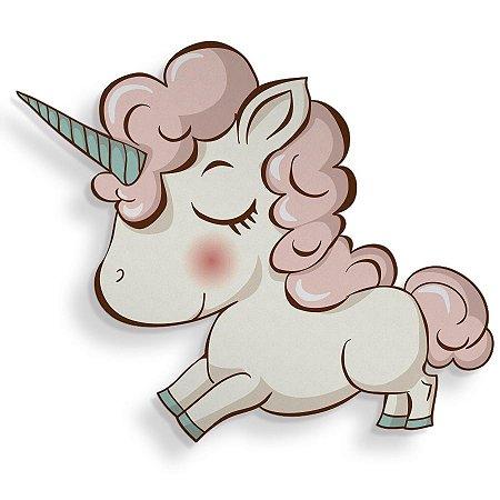 Placa Decorativa Unicornio