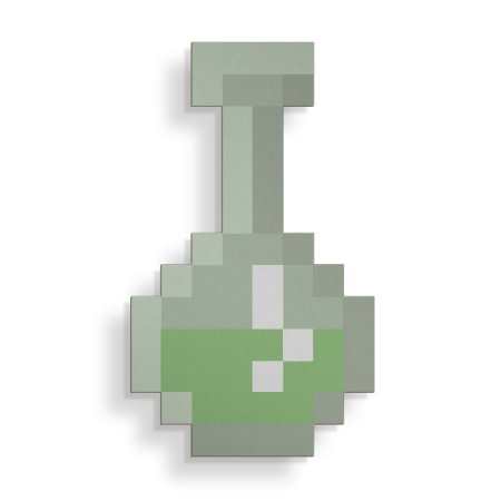 Placa Decorativa Pixel Poção