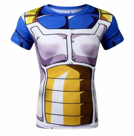 Camiseta Vegeta - Dragon Ball Z