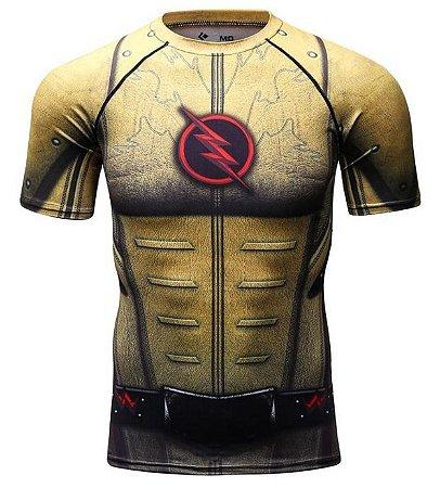 ee45e4be49 Camiseta Flash Reverso - The Flash - Herói Mania: A Melhor Loja Nerd!
