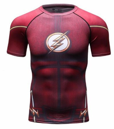6bc2fe5564 Camiseta Flash - Herói Mania: A Melhor Loja Nerd!