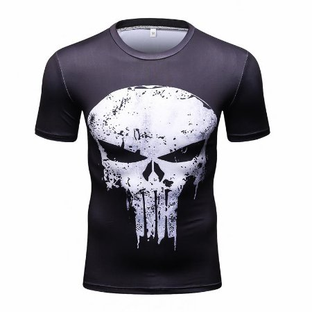 0461f2126 Camiseta Justiceiro - Marvel - Herói Mania: A Melhor Loja Nerd!