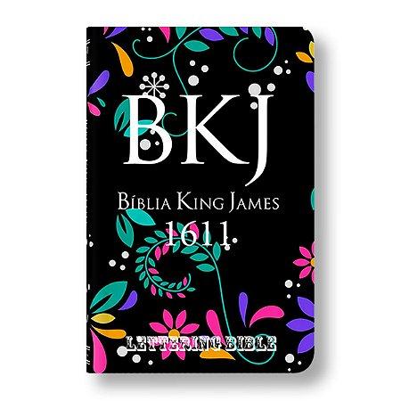 BÍBLIA KING JAMES ULTRAFINA - BKJ LETTERING BIBLE FLORAL