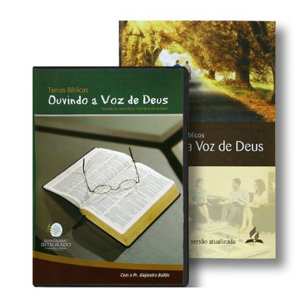 KIT OUVINDO A VOZ DE DEUS - GUIA DE ESTUDOS BÍBLICOS