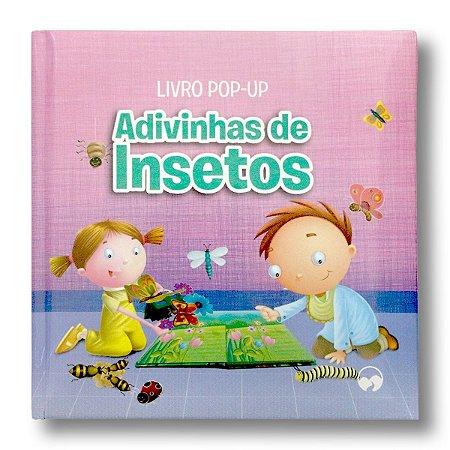 LIVRO POP-UP ADIVINHAS DE INSETOS