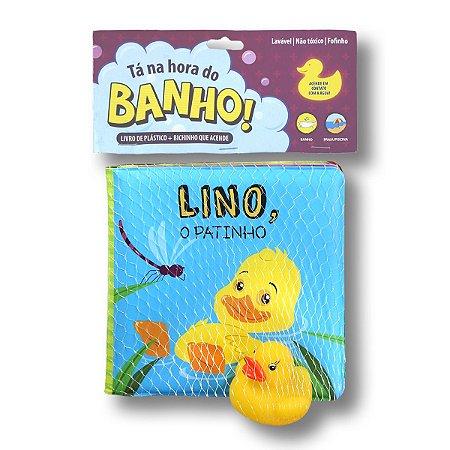 TÁ NA HORA DO BANHO LINO, O PATINHO