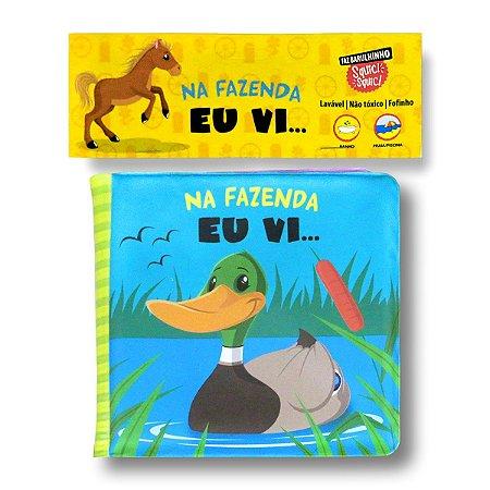 LIVRO DE BANHO NA FAZENDA EU VI...