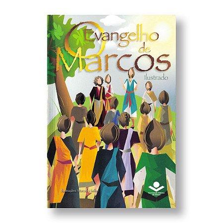 O EVANGELHO DE MARCOS ILUSTRADO NTLH560PMC BROCHURA