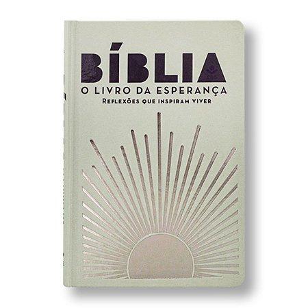 BÍBLIA NA063 LETRA NORMAL CAPA DURA O LIVRO DA ESPERANÇA