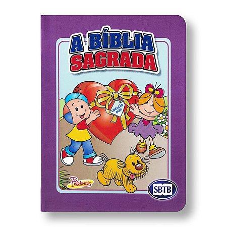 BÍBLIA ACF PALABRITAS LILÁS