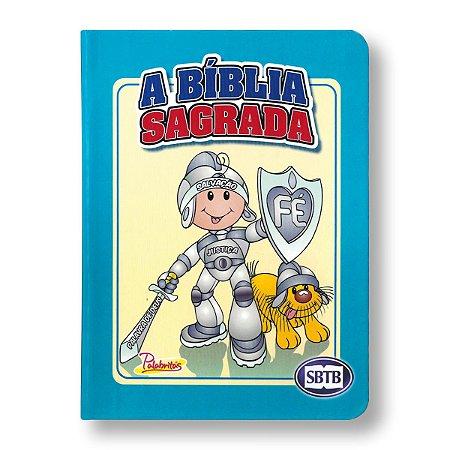 BÍBLIA ACF PALABRITAS AZUL