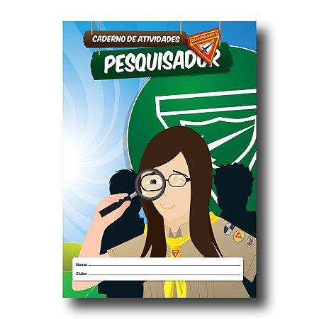 LIVRO DE ATIVIDADES PESQUISADOR