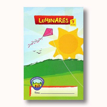 REGISTRO DE CLASSE:  LUMINARES