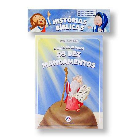HISTÓRIAS BÍBLICAS KIT FSC COM SOLAPA