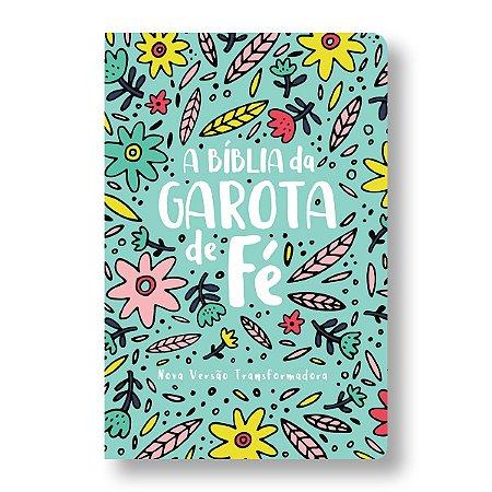 BÍBLIA DA GAROTA DE FÉ NVT - JARDIM