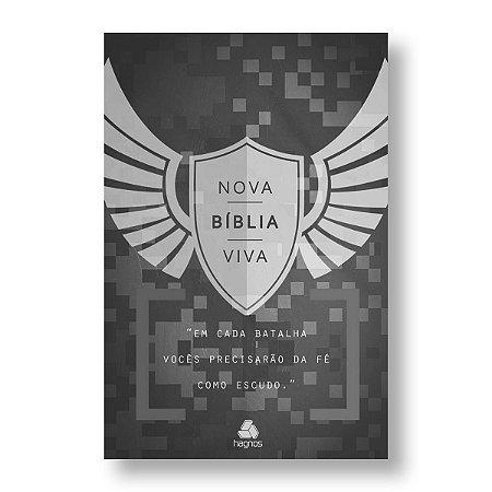NOVA BÍBLIA VIVA - CAPA DURA - ESCUDO