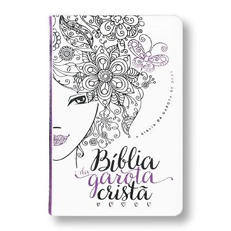 BÍBLIA NTLH DA GAROTA CRISTÃ CAPA GLITTER