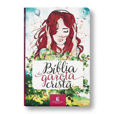 BÍBLIA NTLH DA GAROTA CRISTÃ AQUARELA