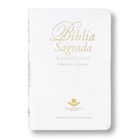 BÍBLIA RA067TILGIW LETRA GIGANTE ÍNDICE BRANCA