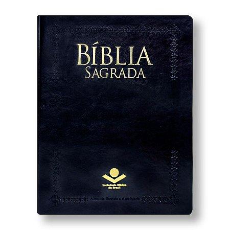 BÍBLIA RA075:PT LETRA EXTRAGIGANTE CAPA PRETA