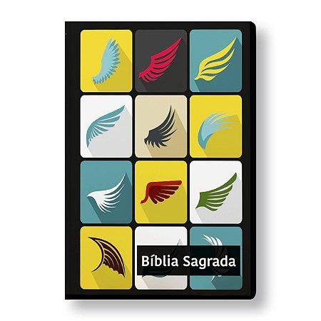 BÍBLIA NVI LETRA NORMAL CAPA ESPECIAL ALADO