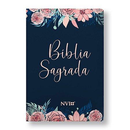 BÍBLIA NVI GRANDE CAPA ESPECIAL ROSAS