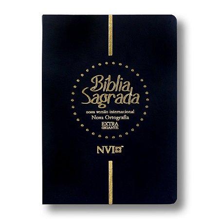 BÍBLIA NVI LETRA GIGANTE PRETA