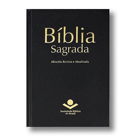 BÍBLIA RA043M MISSIONÁRIA CAPA DURA PRETA