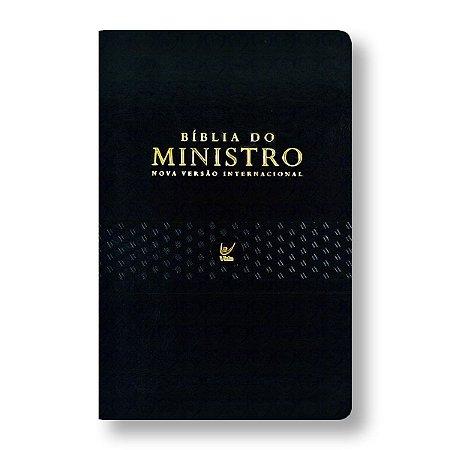 BÍBLIA DO MINISTRO NVI PU PRETA