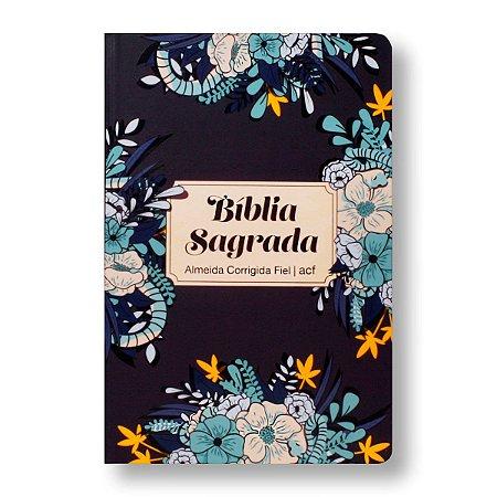 BÍBLIA ACF CAPA ESPECIAL LETRA NORMAL JARDIM