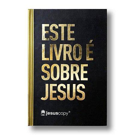 BÍBLIA NA063LG LETRA GRANDE CAPA DURA JESUS COPY ESTE LIVRO