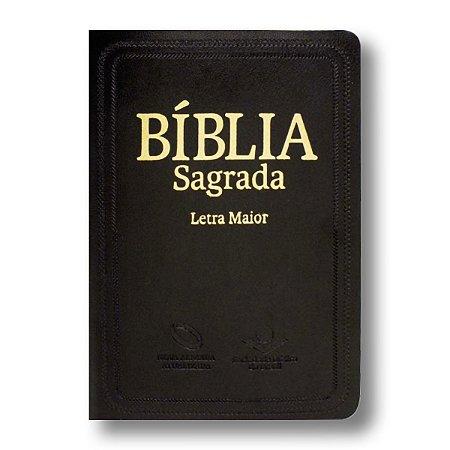 BÍBLIA NA045LM LETRA MAIOR PRETA
