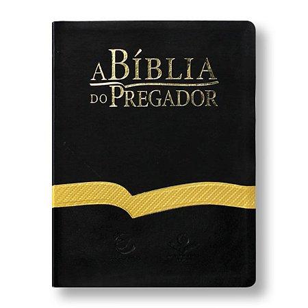 BÍBLIA DO PREGADOR RA085BPR CAPA PRETA