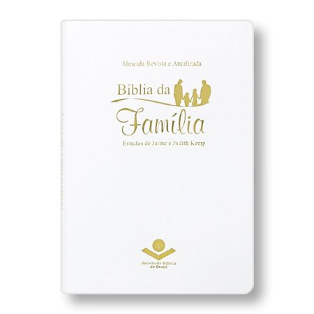 BÍBLIA DA FAMÍLIA RA067BFW CAPA BRANCA