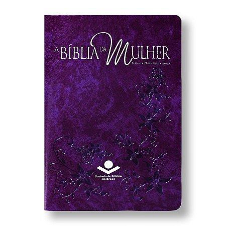 BÍBLIA DA MULHER RA065BMRA2 CAPA VIOLETA NOBRE
