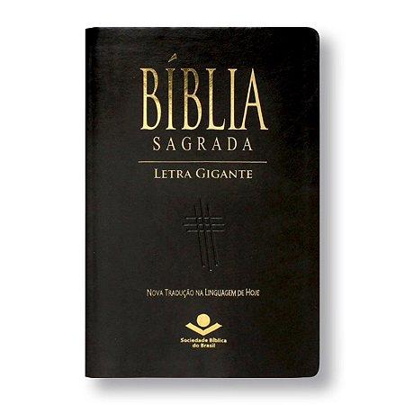 BÍBLIA NTLH065TILGI LETRA GIGANTE PRETO NOBRE ÍNDICE