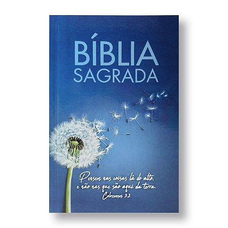 BÍBLIA NTLH60 MISSIONÁRIA BROCHURA AZUL