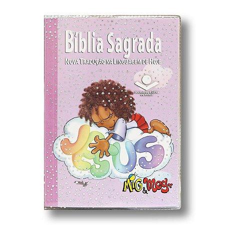 BÍBLIA NTLH40PMM MIG MEG BROCHURA - CAPA CRISTAL